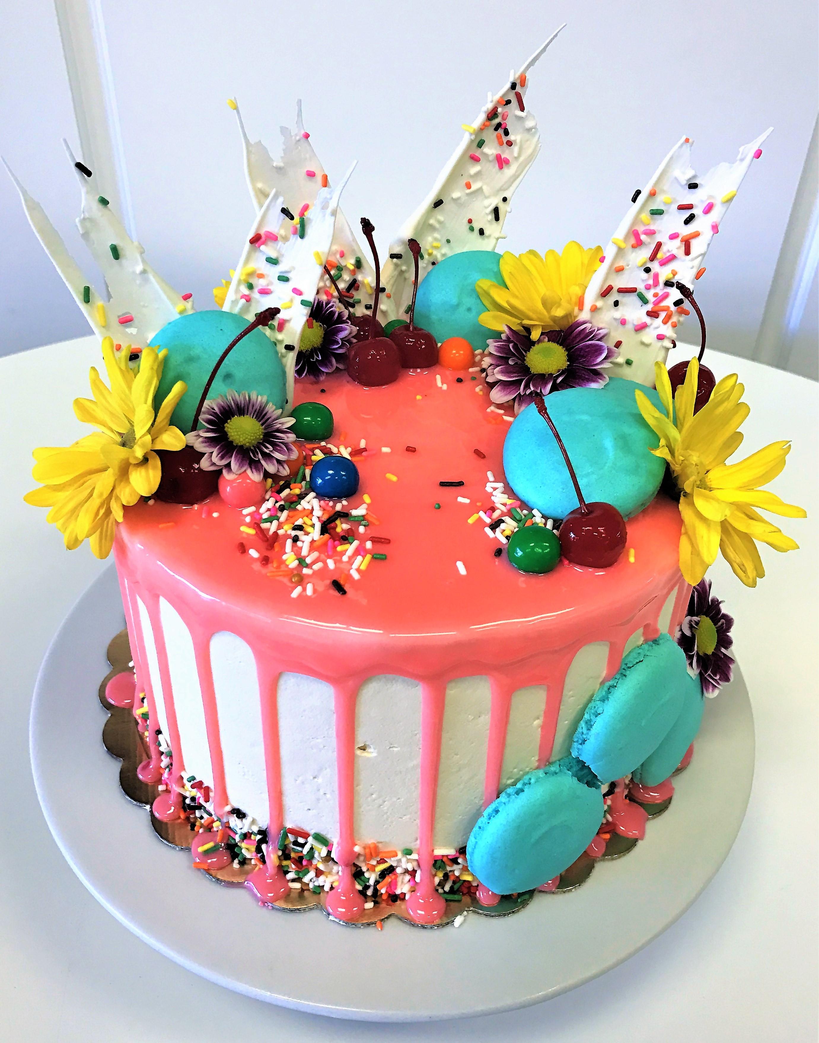 10'' birthday cake