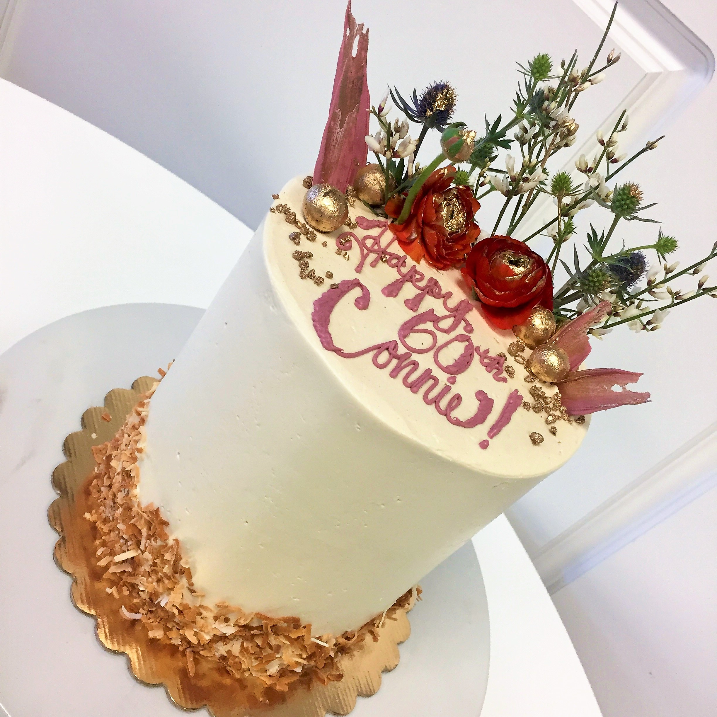 6'' coconut cake