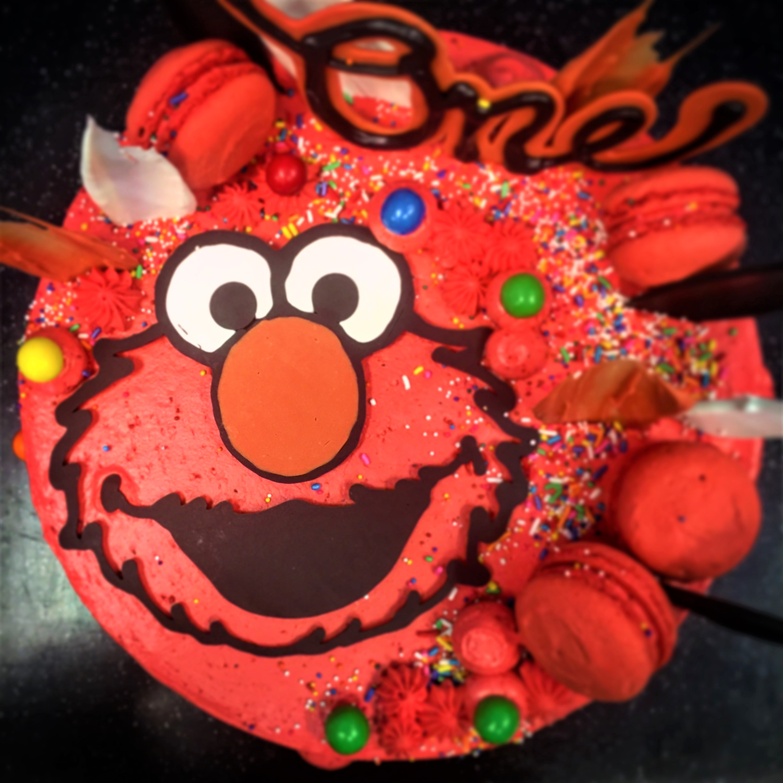 10'' elmo cake